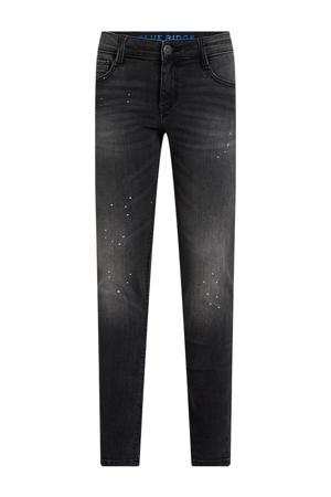 skinny jeans black faded