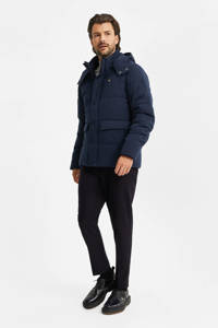 WE Fashion jas donkerblauw, Donkerblauw