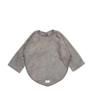 Dijon mouwslab badstof steel grey