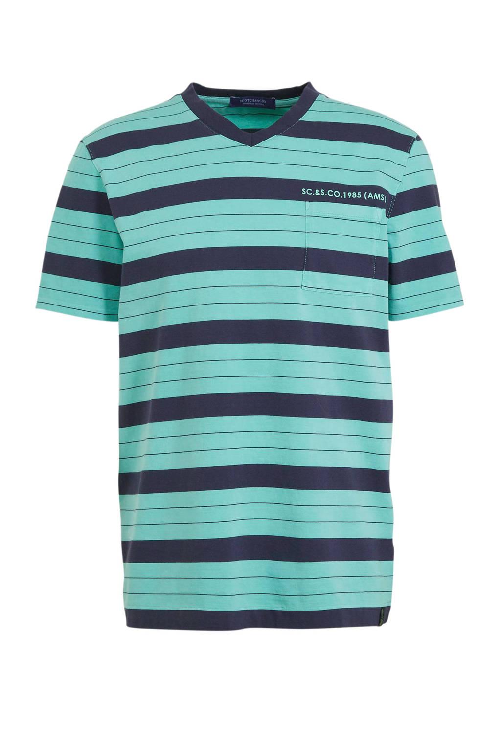 Scotch & Soda T-shirt blauw, Blauw