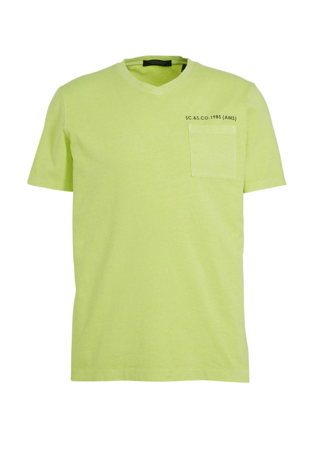 Scotch & Soda T-shirt lemongrass, Lemongrass