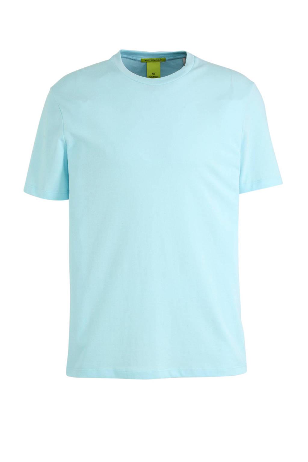 Scotch & Soda T-shirt lichtblauw, Lichtblauw