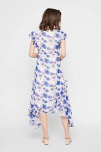 MAMALICIOUS gebloemde zwangerschapsjurk Fleur wit/blauw/lila, Wit/blauw/lila