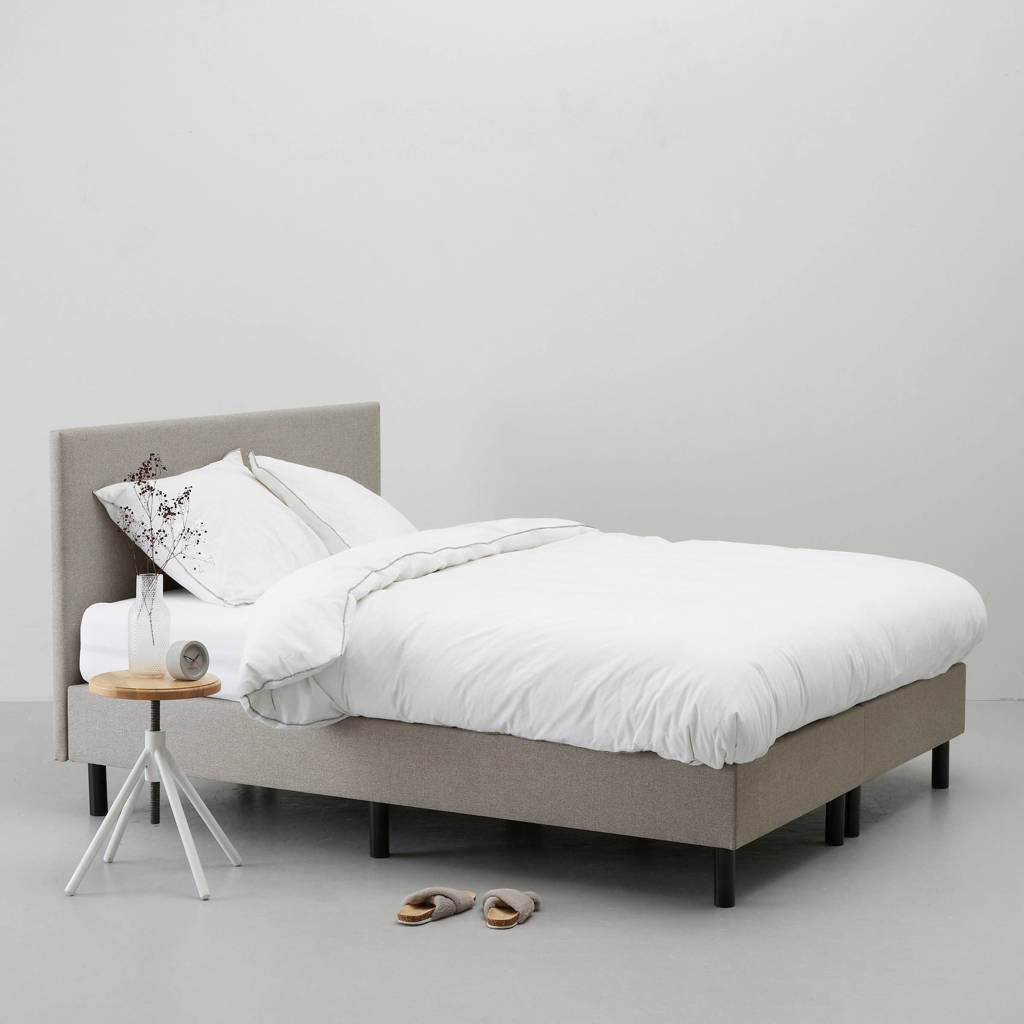 wehkamp home complete boxspring Vancouver (140x200 cm), Taupe