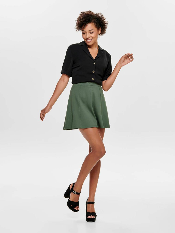 ONLY blouse zwart, Zwart