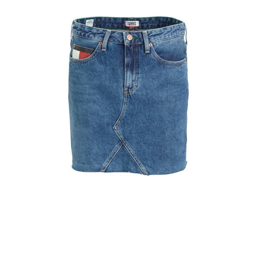 Tommy Jeans spijkerrok met logo