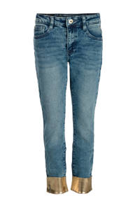 Jill & Mitch by Shoeby cropped slim fit jeans Ava medium stone, Medium stone
