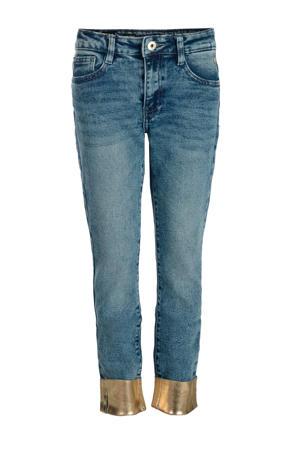 cropped slim fit jeans Ava medium stone