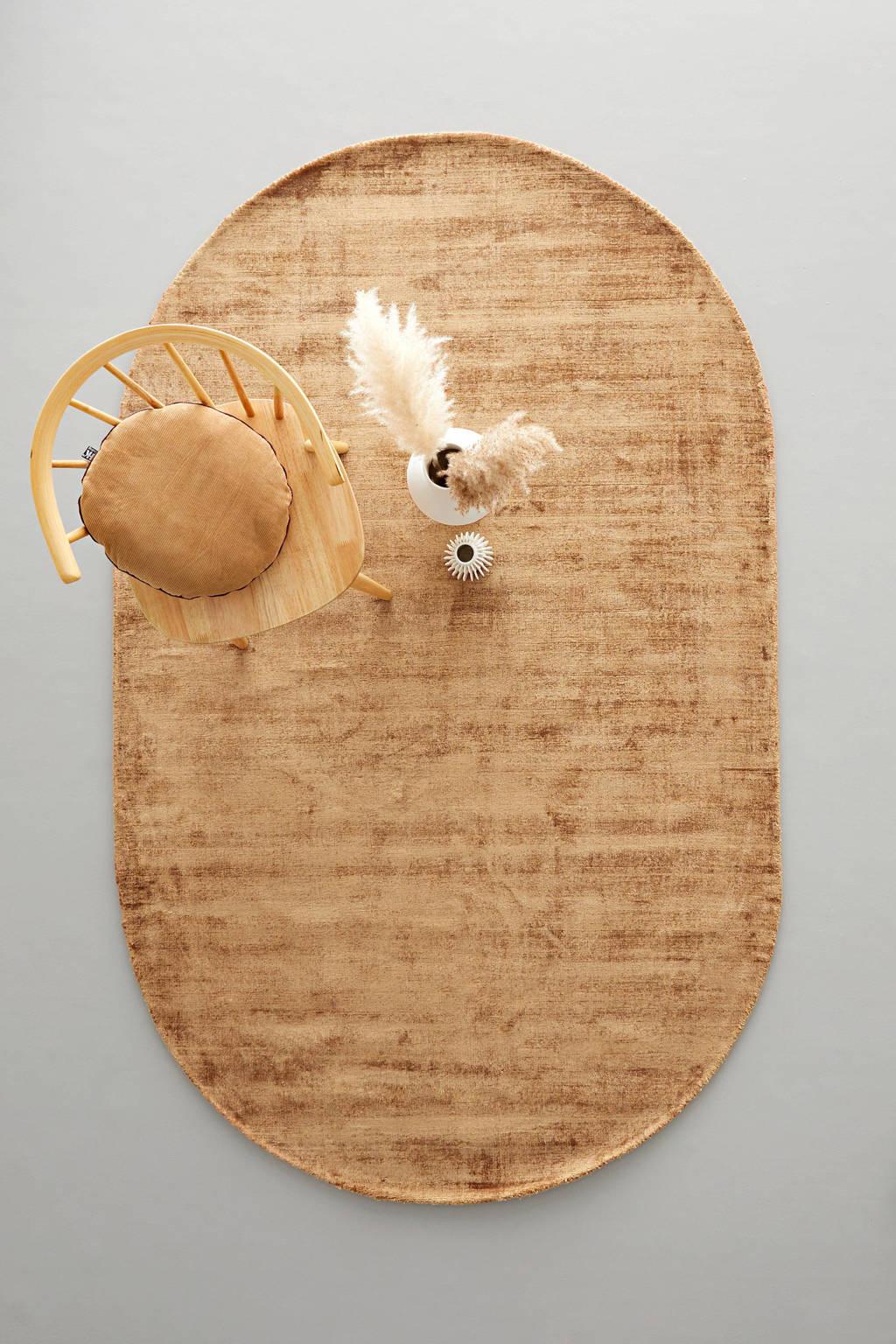 Wehkamp Home vloerkleed Helen  (240x150 cm), Goud