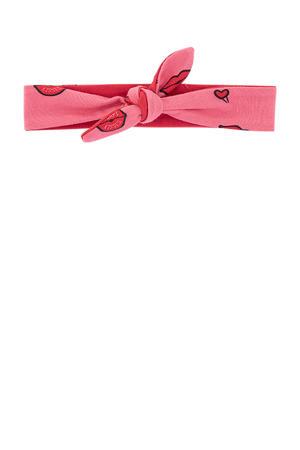 panterprint haarband  Athilda roze