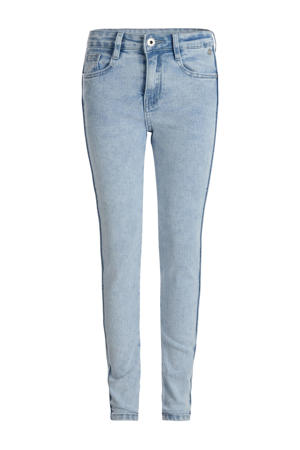 high waist skinny jeans Angy light denim