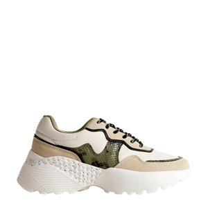 chunky sneakers ecru/wit