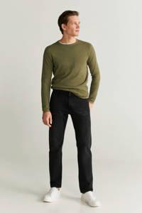 Mango Man regular fit jeans changeant grijs