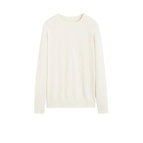 Mango Man sweater naturel wit