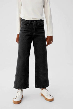 culotte jeans zwart