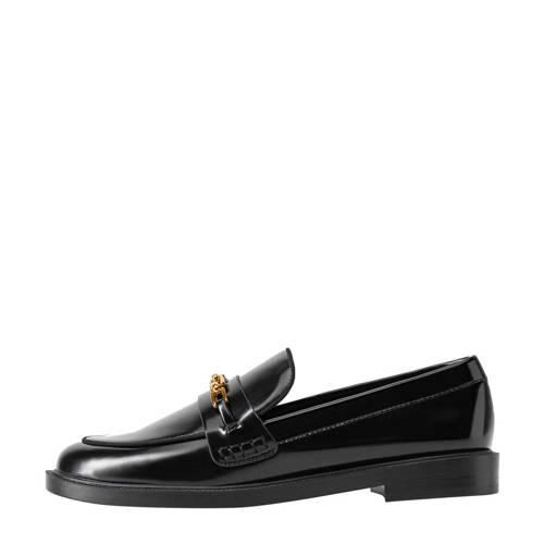 Mango loafers lak zwart