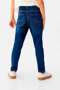 Mango Kids straight fit jeans donkerblauw, Donkerblauw