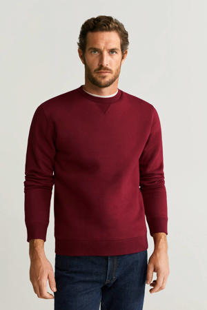 sweater donkerrood