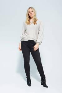 Violeta by Mango skinny jeans donkergrijs, Donkergrijs