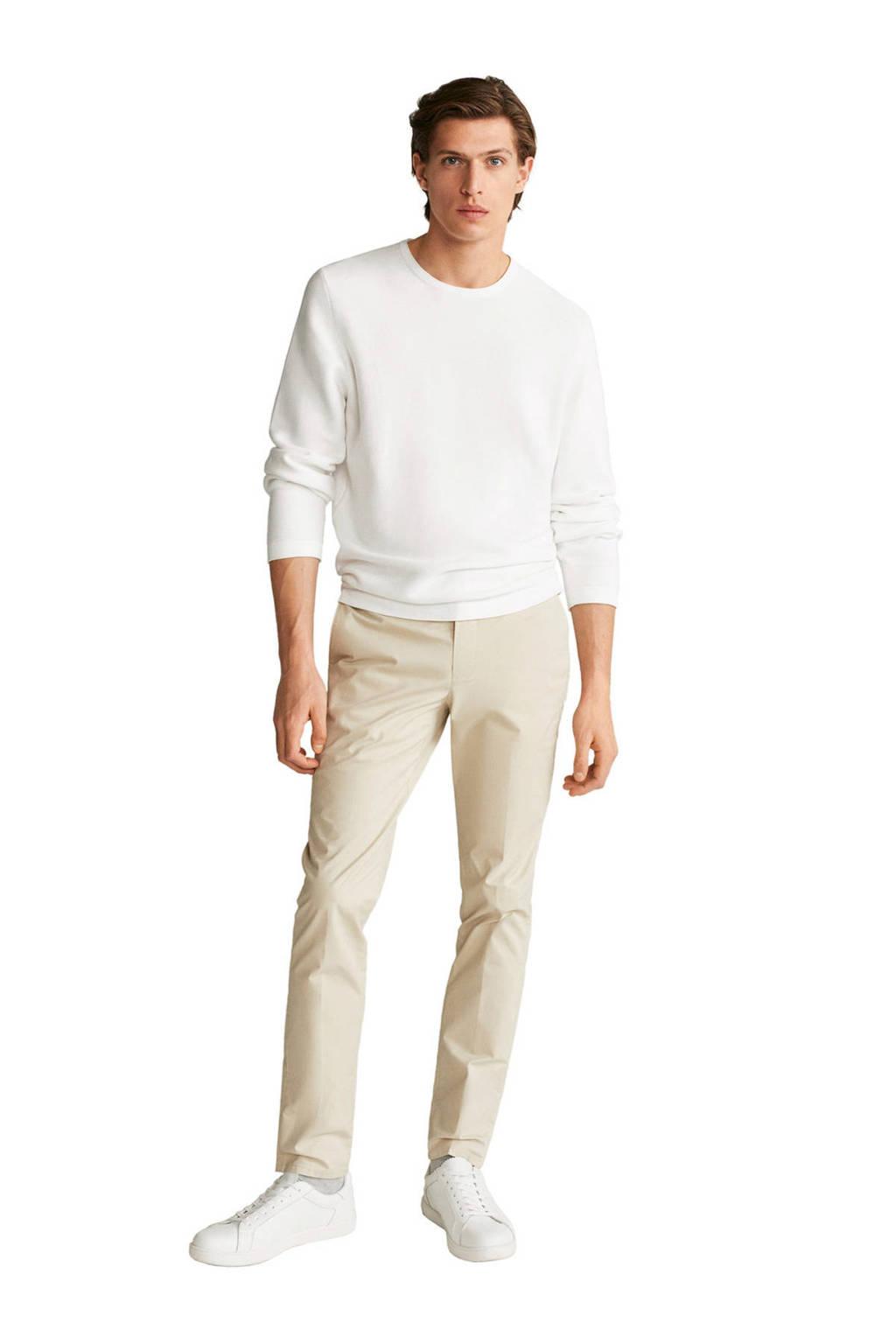 Mango Man sweater wit, Wit