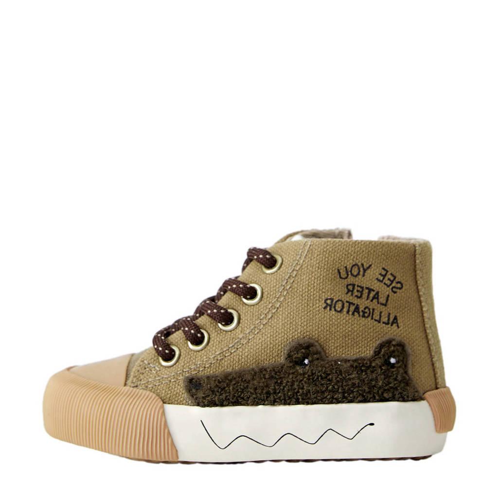 Mango Kids   sneakers lichtkaki, Lichtkaki/Bruin