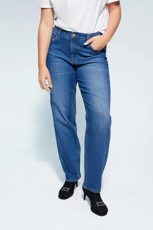 loose fit jeans blauw