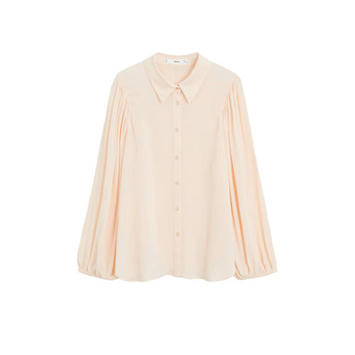 Mango blouse pastelroze