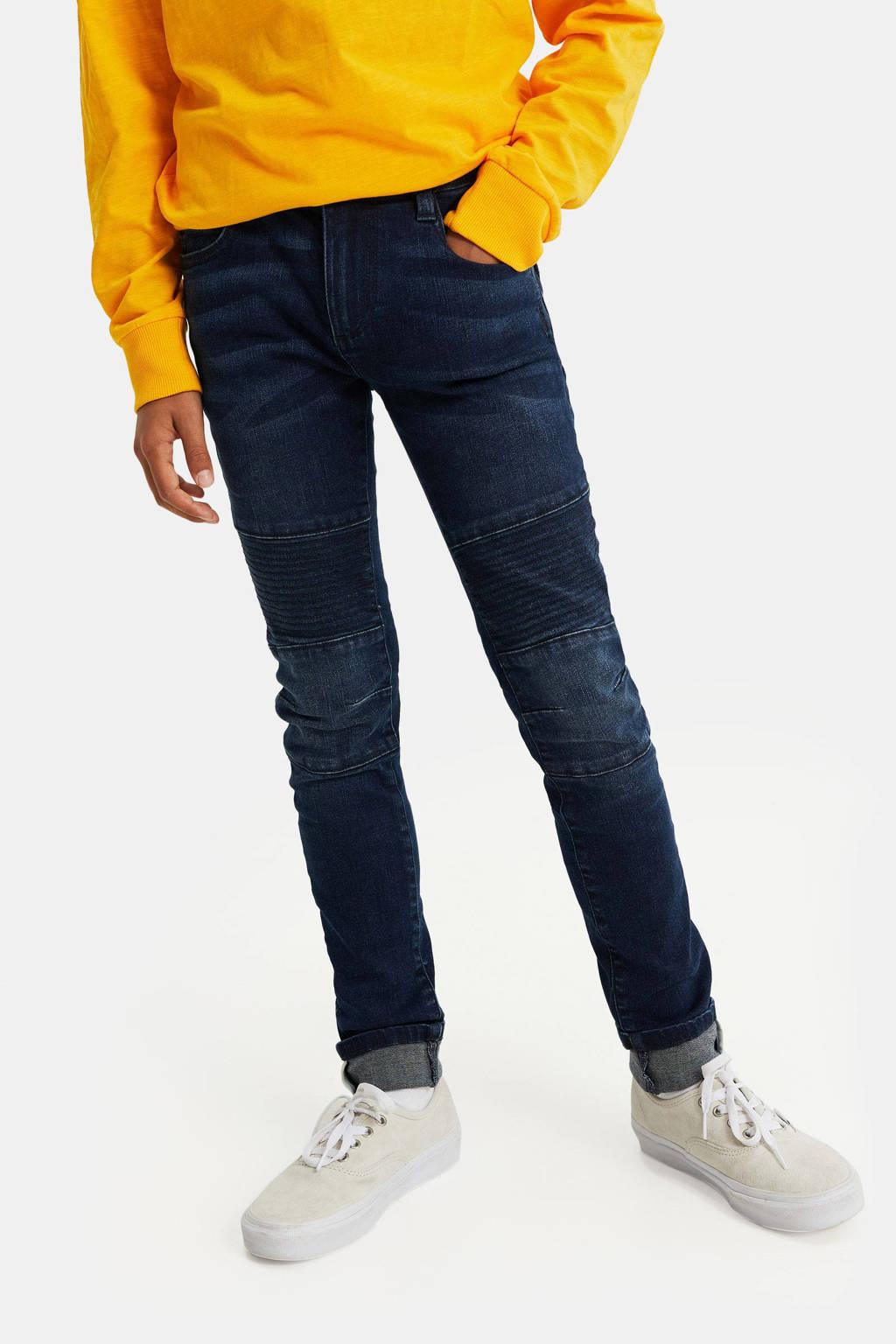WE Fashion Blue Ridge skinny jeans dark denim, Dark denim