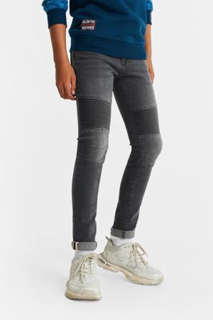 skinny jeans grijs stonewashed