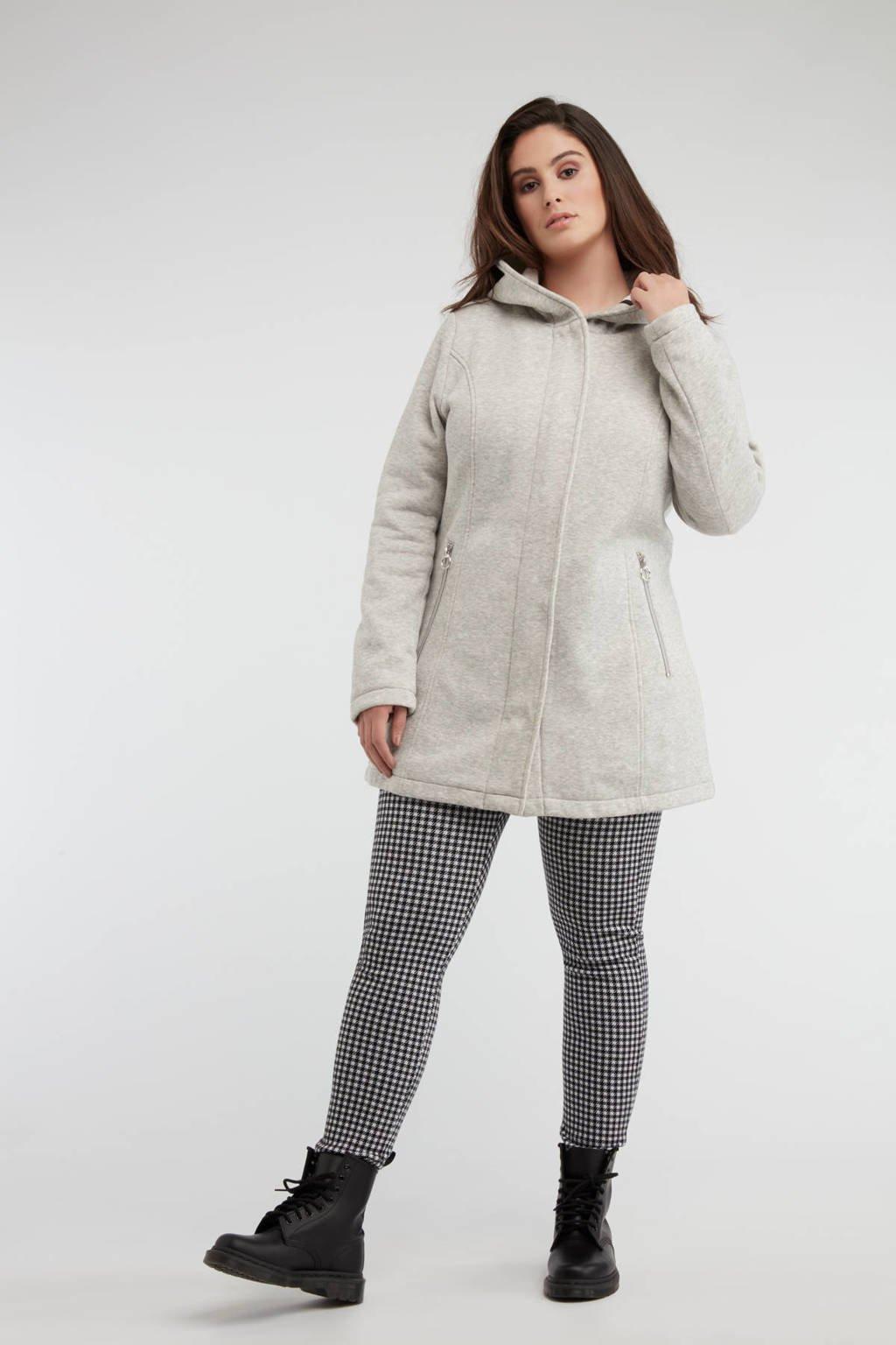 MS Mode softshell jack midden grijs, Midden grijs