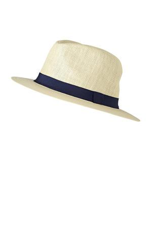 strooien hoed ecru