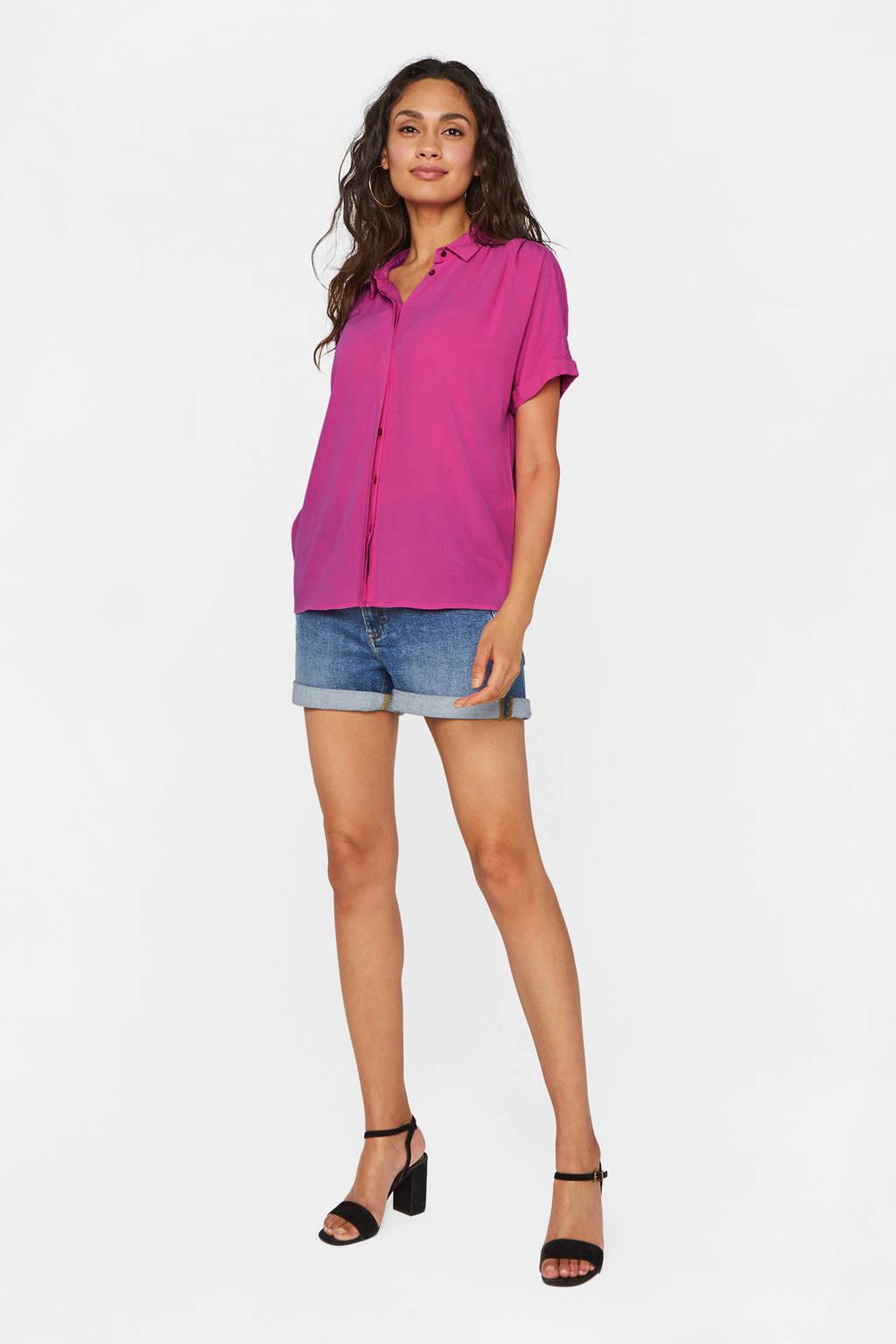 WE Fashion blouse sunrise pink, Sunrise Pink