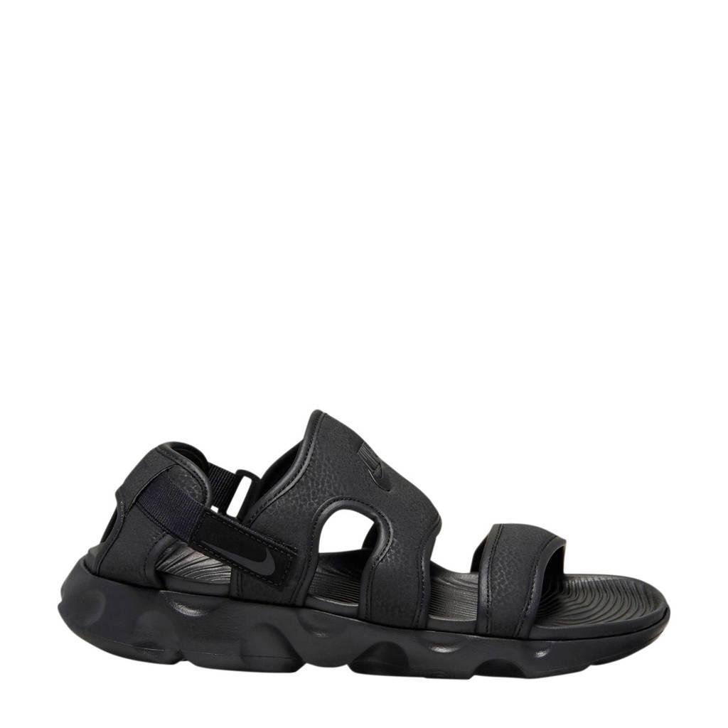 Nike Owaysis  sandalen zwart, Zwart