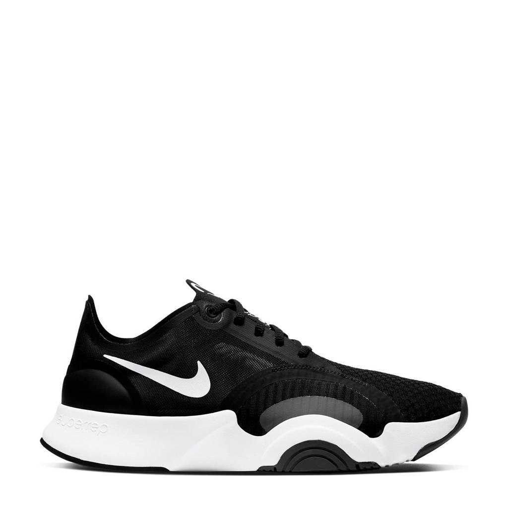 Nike Air Zoom SuperRep Go fitness schoenen zwart/wit, Zwart/wit