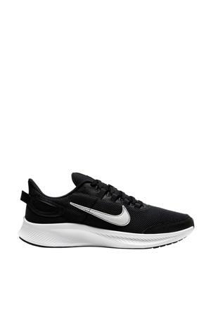 Run All Day 2 hardloopschoenen zwart/wit