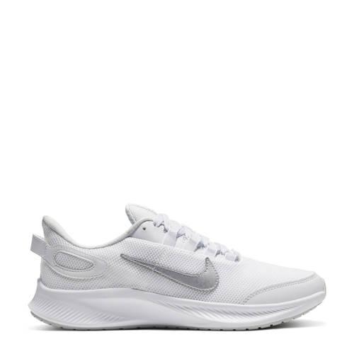 Nike Run All Day 2 hardloopschoenen wit /metallic