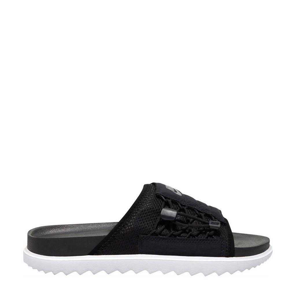 Nike Asuna Slide  badslippers zwart, Zwart