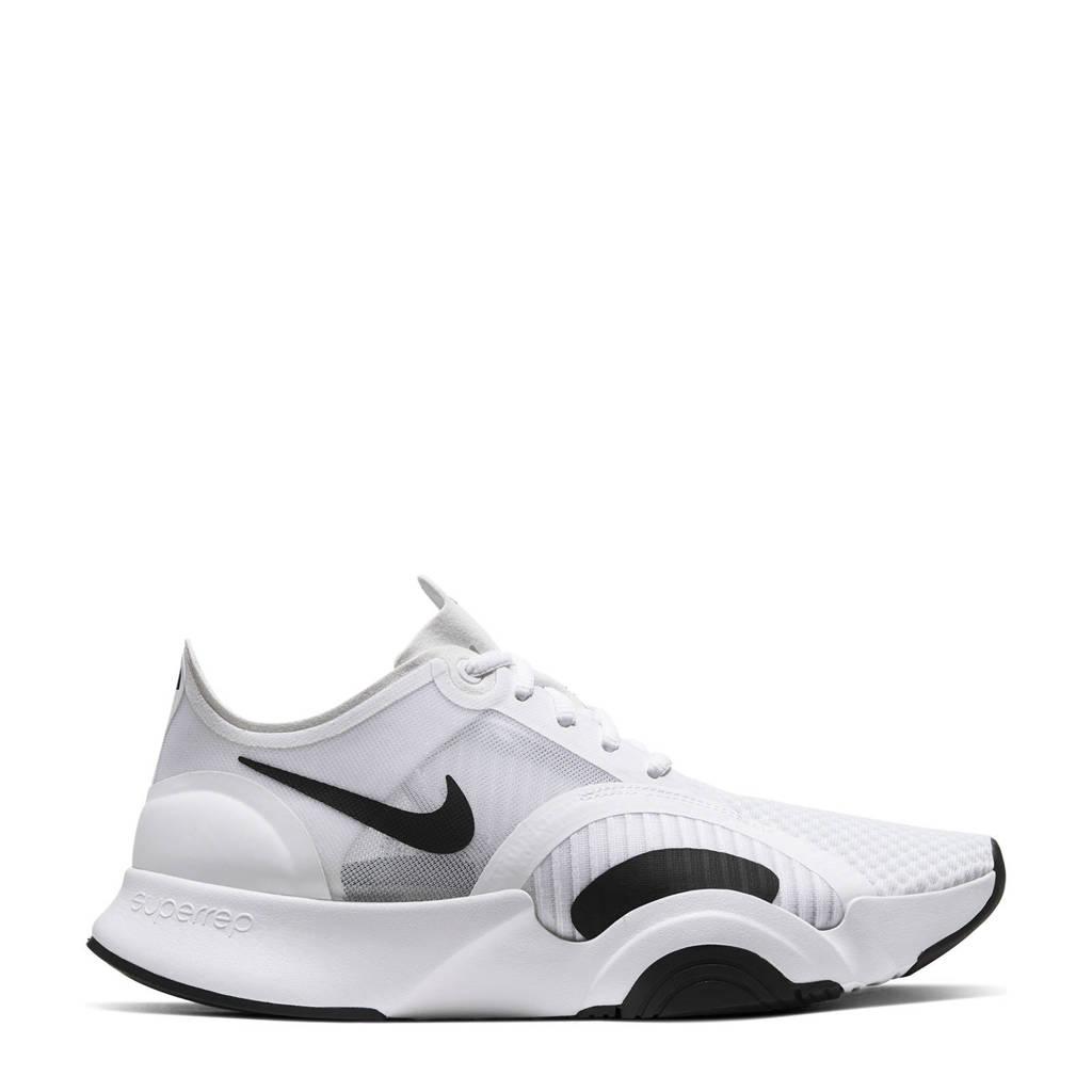 Nike Air Zoom SuperRep Go fitness schoenen zwit/zwart, Wit/zwart