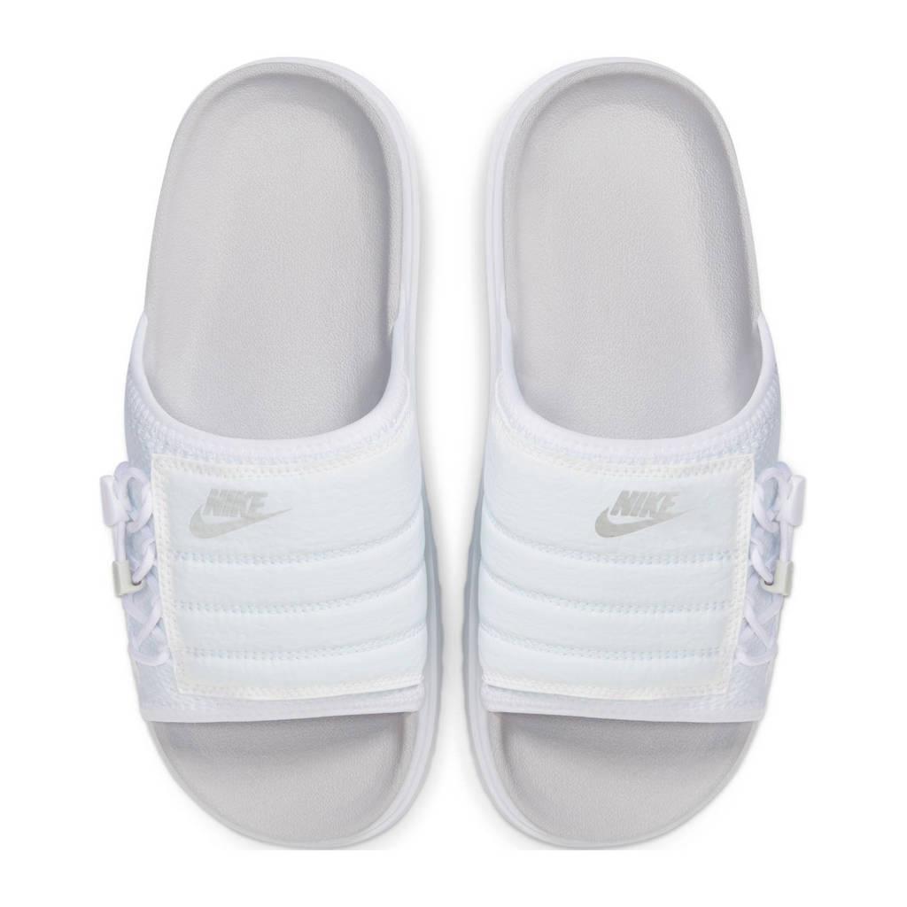 Nike Asuna Slide  badslippers wit, Wit