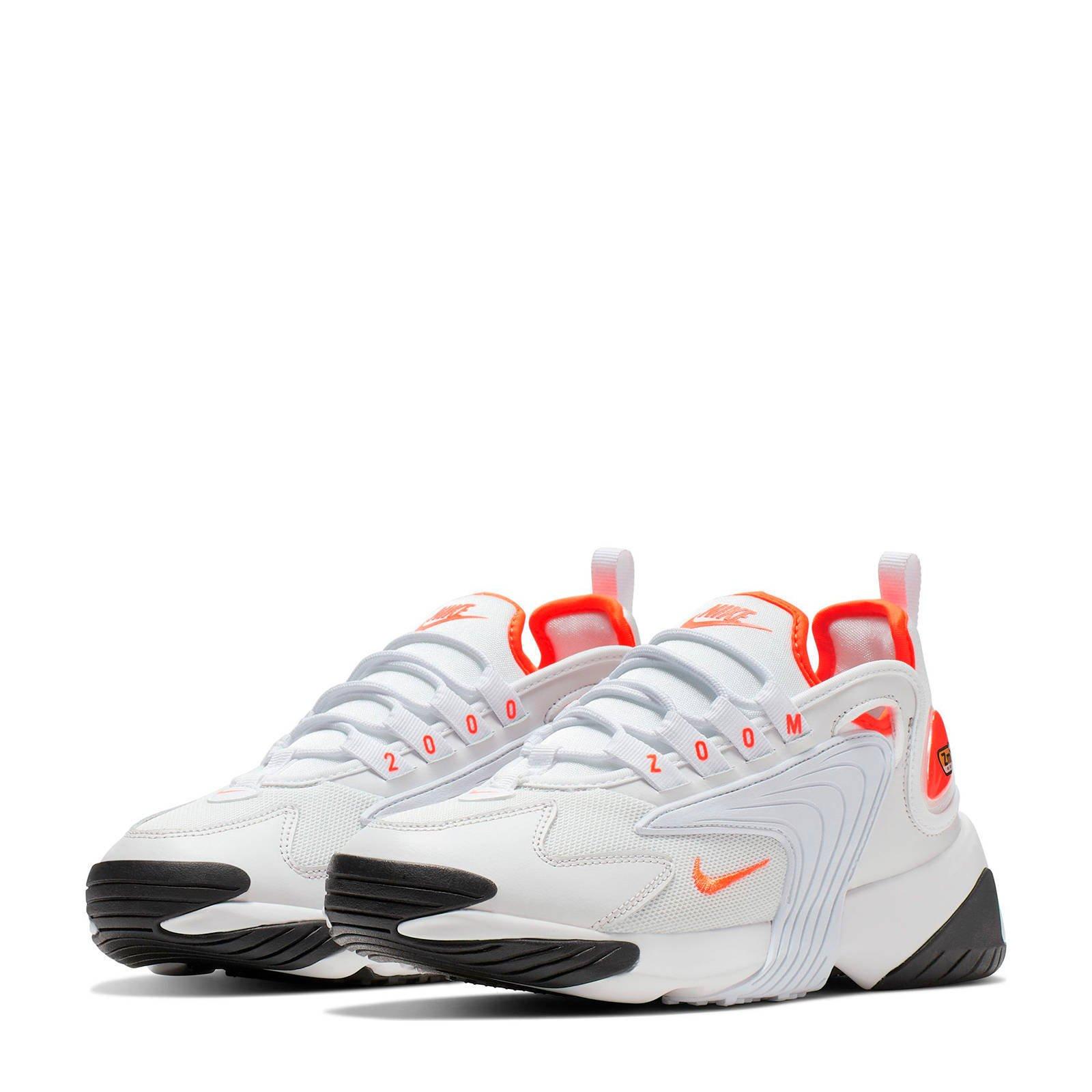 Nike ZOOM 2K sneakers wit/oranje   wehkamp