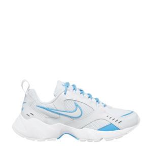 Air Heights  leren sneakers wit/blauw