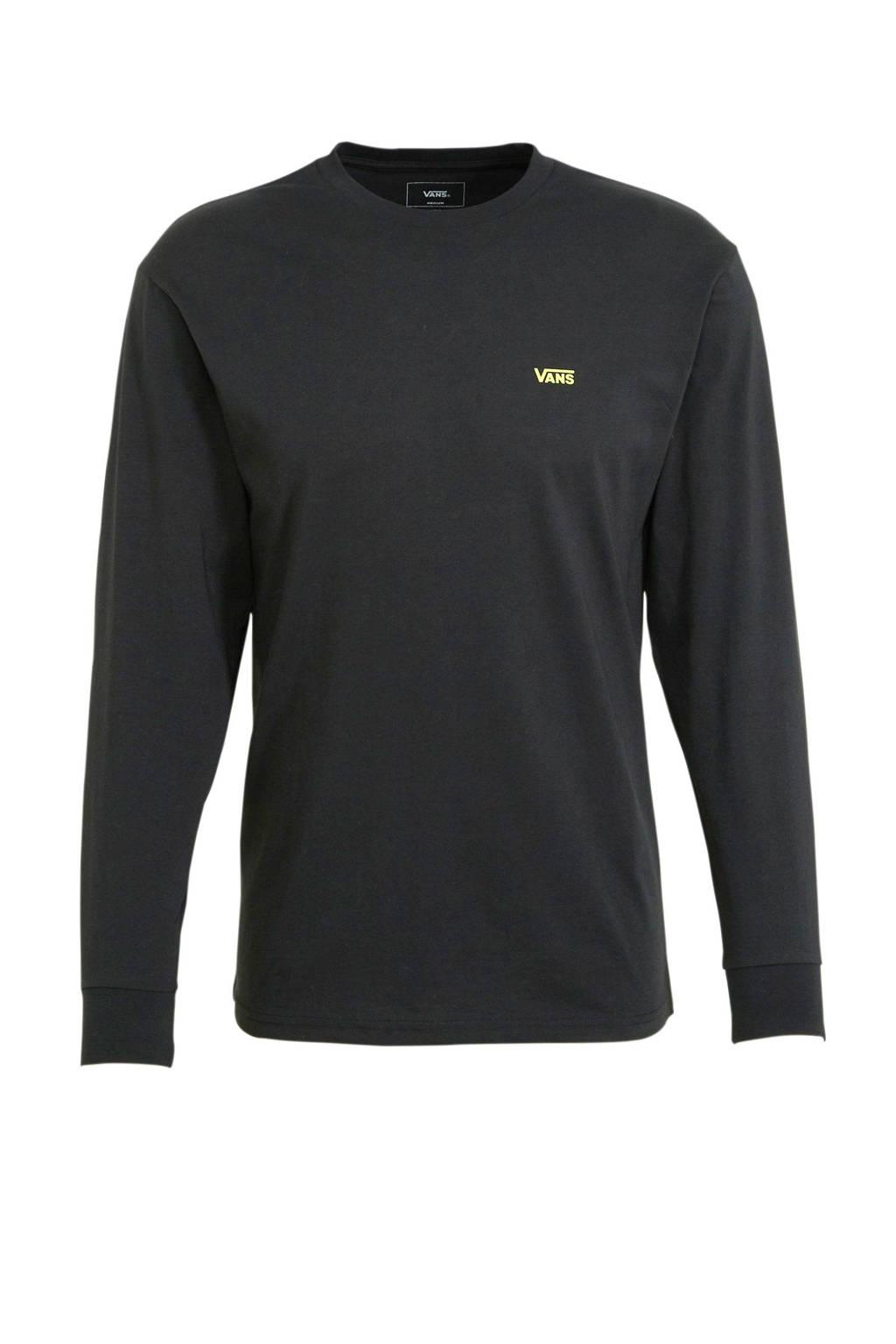VANS T-shirt zwart, Zwart