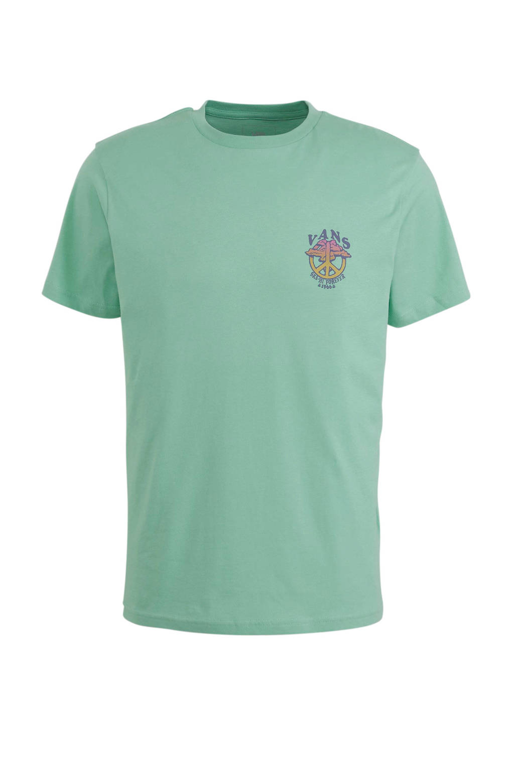 VANS   T-shirt mintgroen, Mintgroen