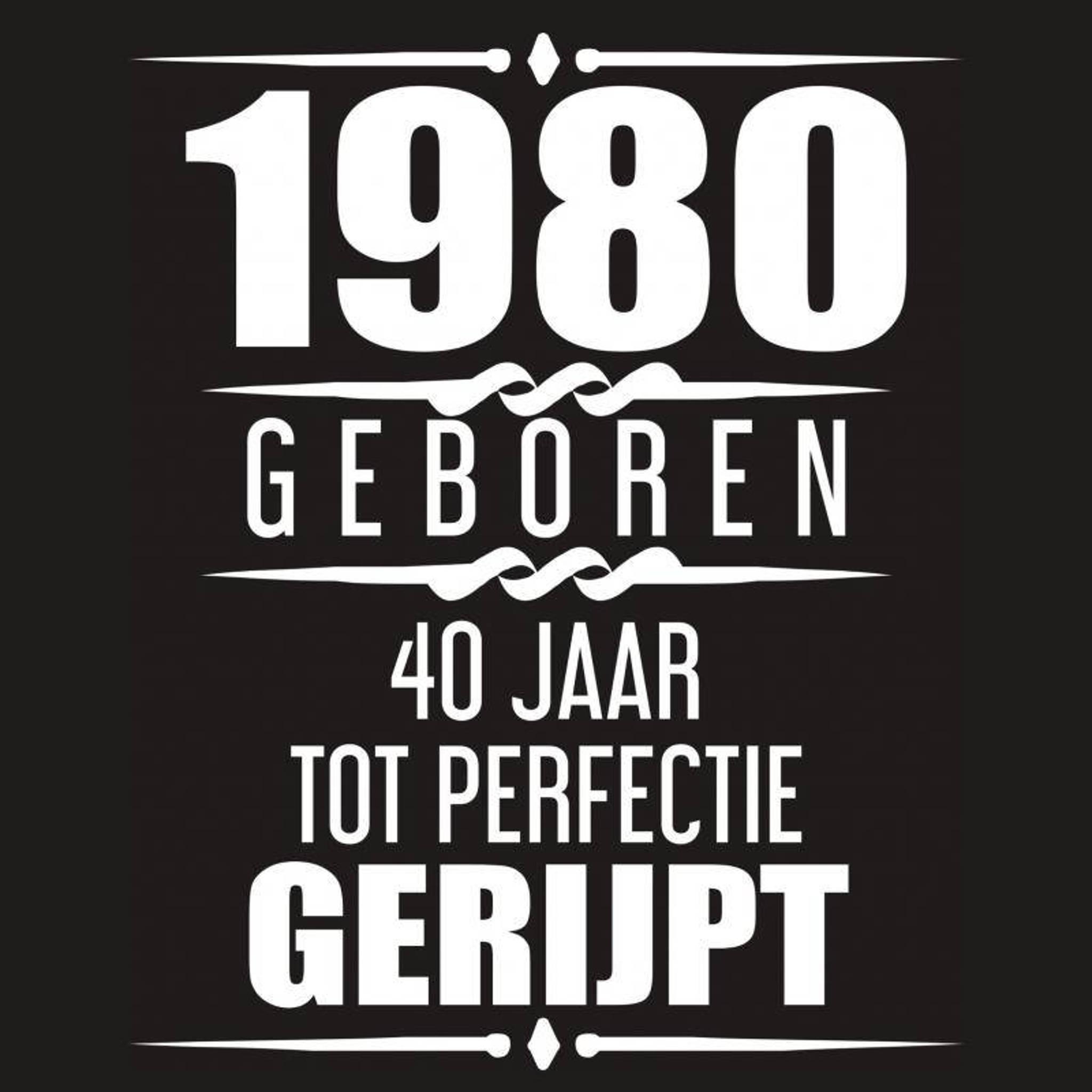 Fonkelnieuw Albaspirit Gastenboeken 1980 Geboren 40 Jaar Tot Perfectie Gerijpt AC-83