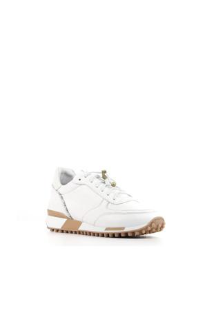 5409059   leren sneakers wit