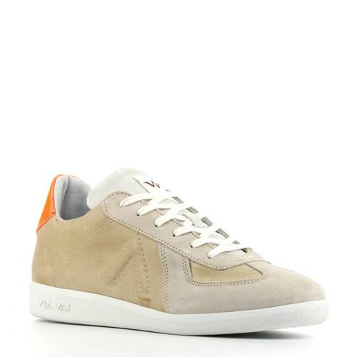 Via Vai 5406011 su??de sneakers beige/oranje