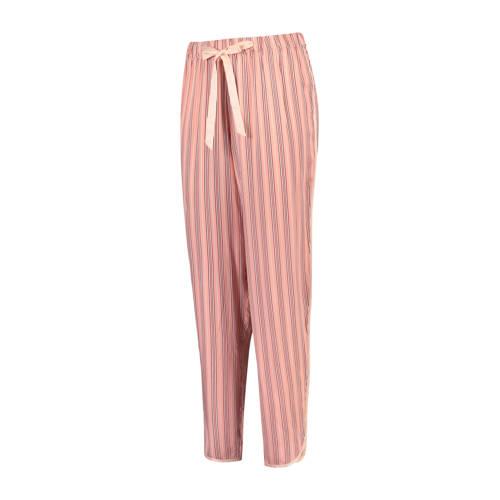 Hunkem??ller gestreepte pyjamabroek roze