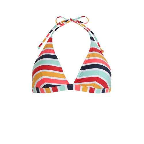 ESPRIT Women Beach gestreepte triangel bikinitop g