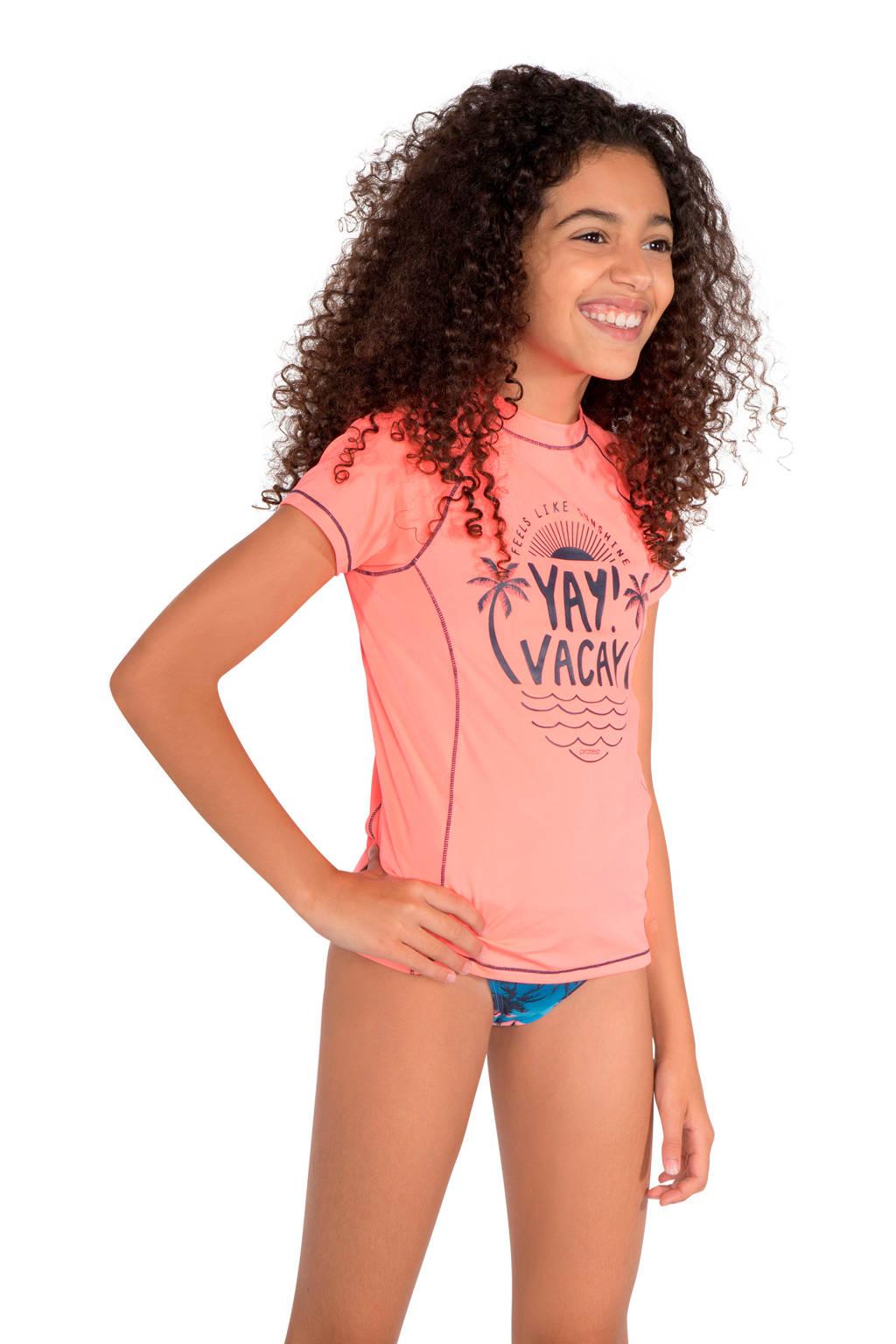Protest UV shirt Rafa JR roze, Roze