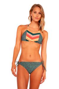 Protest bikinibroekje MM Cabel met all over print groen/lichtblauw, Groen/Lichtblauw